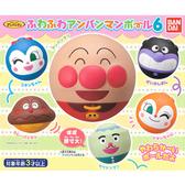 全套6款【日本正版】麵包超人 軟軟球 P6 扭蛋 轉蛋 捏捏樂 細菌人 紅精靈 BANDAI 萬代 - 346395