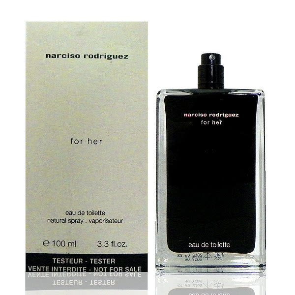 Narciso Rodriguez For Her 同名經典女香淡香水 100ml Tester 包裝