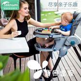 teknum寶寶餐椅可折疊多功能便攜式兒童嬰兒椅子小孩吃飯餐桌座椅