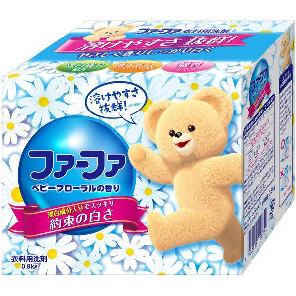 日本FaFa 熊寶貝 洗衣粉 漂白.消臭 900g [霜兔小舖]