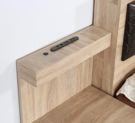 【南洋風休閒傢俱】臥室系列-哈佛梧桐功能背板床頭櫃 置物櫃 收納櫃 JF040-2