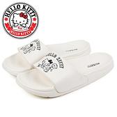 N-28102 凱蒂貓黑白趣味小圖防水拖鞋【HELLO KITTY 】