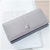 熱賣荔枝紋長夾-歐美風簡約時尚女皮夾手拿包 Angelnana (SMA0199)
