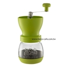 金時代書香咖啡 Tiamo 密封罐陶瓷磨豆機 雕花密封罐設計 綠色 HG6149G