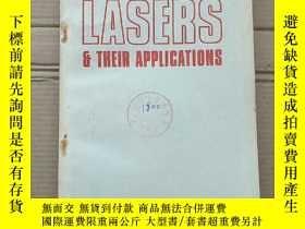 二手書博民逛書店lasers罕見their applications(P1722)Y173412