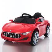聖誕節交換禮物-嬰兒童電動車四輪可坐遙控汽車搖擺童車寶寶玩具車RM