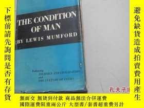 二手書博民逛書店1944年出版《the罕見condition of man》Y8