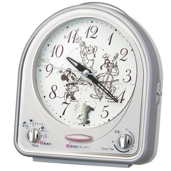 SEIKO迪士尼米奇米妮時鐘鬧鐘FD464S通販屋