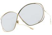 Dior 太陽眼鏡 STELLAIRE2 83I0T (金-白水銀綠鏡片) 歐美時尚率性百搭款 水銀墨鏡 #金橘眼鏡