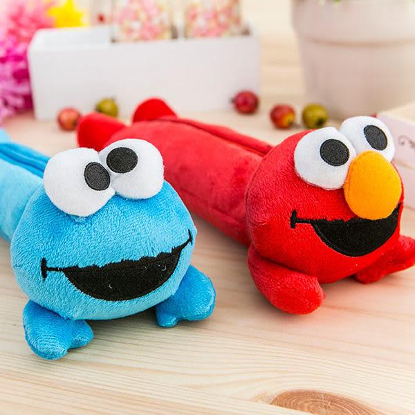 里和Riho 芝麻街Sesame Street 立體娃娃筆袋 收納包 零錢包 化妝包 ELMO Cookie Monster 餅乾怪獸