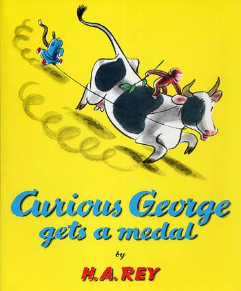 【麥克書店】『小熊媽的經典英語繪本』CURIOUS GEORGE GETS A MEDAL /英文繪本