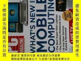 二手書博民逛書店PC罕見Magazine 2007年4月24日 英文個人電腦雜誌 可用樣板間道具雜誌Y114412