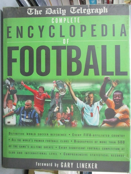 【書寶二手書T6/體育_FLD】The Daily Telegraph Complete Encyclopedia of Football_Keir Radnedge