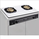 [家事達] SK-2051s 豪山牌 環銅爐頭 不鏽鋼 雙口崁入瓦斯爐 特價