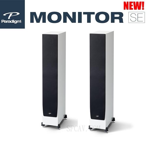 【勝豐群新竹音響】新款 Paradigm Monitor SE 6000F 落地式揚聲器 白色