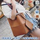時尚潮流子母包大容量手提包包...