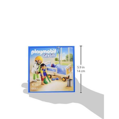 playmobil 城市生活系列 醫生與兒童_ PM06661