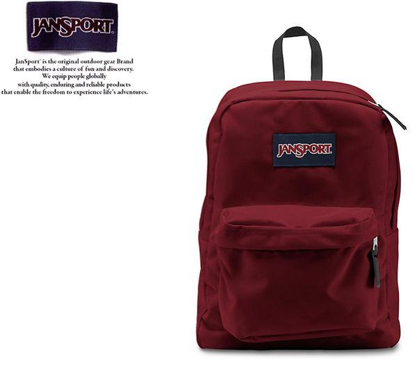 【橘子包包館】JANSPORT 後背包 SUPER BREAK JS-43501 聖誕紅