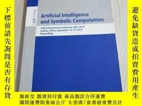二手書博民逛書店Artificial罕見Intelligence and Symbolic Computation(人工智能與符號