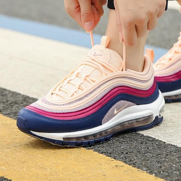 IMPACT Nike Air Max 97 Plum Chalk 藍 紫紅 粉 氣墊 慢跑 女鞋 921733-802