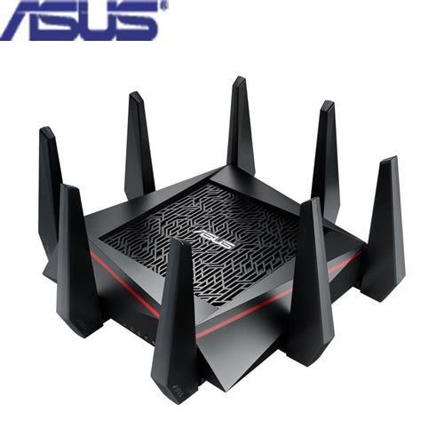 【電玩電影都流暢】ASUS 華碩 RT-AC5300 三頻 Gigabit 無線分享器