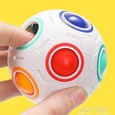兒童益智魔方初學者減壓彩虹球小方球益智力異形解壓迷你摩方玩具 秋季新品