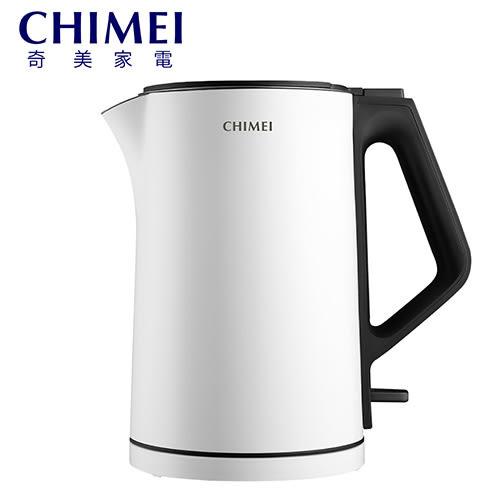 [CHIMEI 奇美] 1.5公升三層防燙不鏽鋼快煮壺 KT-15MD00
