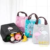 買1送1 帆布飯盒袋子加厚鋁箔保溫袋防水便當包手提袋女束口便當袋【輕奢時代】