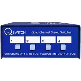 澳洲 ARX Q Switch 四軌 立體聲 切換器 總代理公司貨