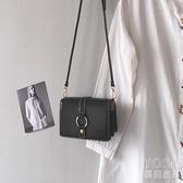 法國小眾包包女新款潮高級感ck小方包百搭單肩斜挎包ins女包 快速出貨