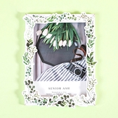 【BlueCat】綠葉頌 盒裝貼紙 手帳貼紙 (46枚入)