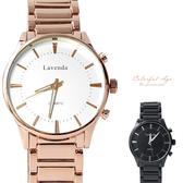 手錶 正韓LAVENDA刻度鐵錶 柒彩年代【NEK40】單支