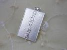925純銀 墜飾  六字大明咒. 八寶 蓮花