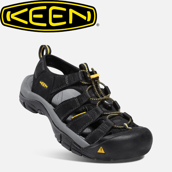【KEEN 美國 男款 護趾涼鞋《黑》】1001907/水陸兩用鞋/涼鞋/休閒涼鞋★滿額送