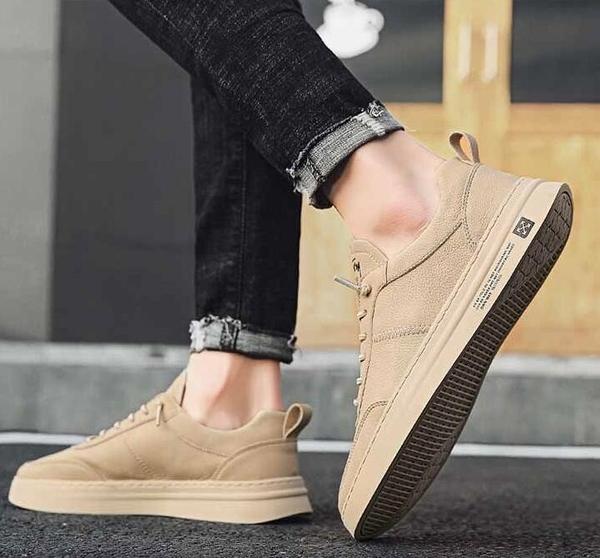 休閒男鞋秋季運動白板鞋