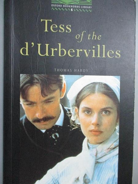 【書寶二手書T5/原文小說_NGY】Tess of the D urbervilles_Thomas Hardy, Tricia Hedge