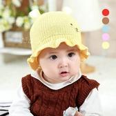 小兔子荷葉邊針織童帽 兔子 荷葉 針織 童帽 帽子