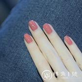 腳指甲油女可剝防水持久無毒無味可撕拉不掉色孕婦車厘子紅豆沙色
