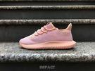 IMPACT Adidas Tubular Shadow J YEEZY 小350 平民版 輕量 全粉紅 休閒鞋 女鞋 雪花 BW1309