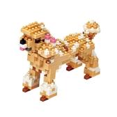 【Tico微型積木】動物狗系列-貴賓狗 T-9405