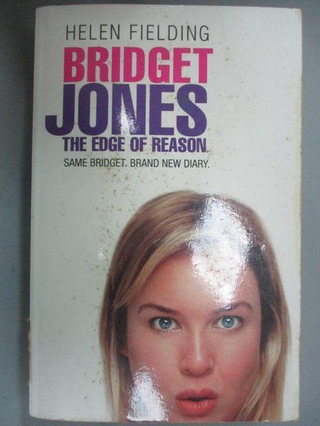 【書寶二手書T1/原文小說_HRH】Bridget Jones - The Edge Of Reason_Helen Fielding
