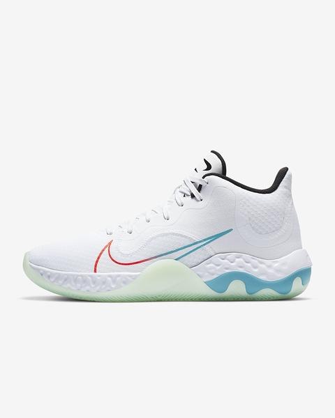 NIKE系列-RENEW ELEVATE 男款白色運動籃球鞋-NO.CK2669100