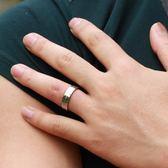 正韓時尚首飾 新款 一箭穿心 鈦鋼情鋁戒指 全館滿千89折