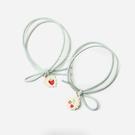 清新草莓櫻桃圖案髮圈 髮飾 頭飾 髮圈