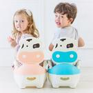 (限宅配) 兒童乳牛抽屜式訓練馬桶便盆 兒童學習便盆 兒童馬桶