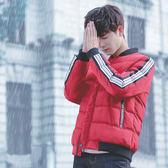 韓版冬天加絨休閒冬天加厚上衣 男士棉服百搭夾克型男時尚外衣 冬季冬裝男生棉服男款保暖外套