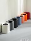 垃圾桶北歐ins風垃圾桶家用創意簡約現代可愛少女臥室客廳紙簍輕奢網紅 晶彩