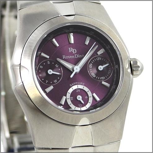 【萬年鐘錶】 Roven Dino 羅梵迪諾 楊丞琳代言 三眼紫小RD9802