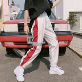 運動褲女夏寬鬆韓版學生百搭bf原宿hiphop嘻哈帥氣怪味少女褲子潮 好再來小屋