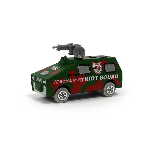 A&L奧麗迷你合金車 NO.69 特種防爆車 滑行車 戰車 坦克 軍事模型(1:64)【楚崴玩具】